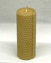 Wax candle strong small