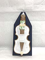 Painted Gingerbread - Bass