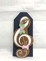 Painted Gingerbread - Treble clef