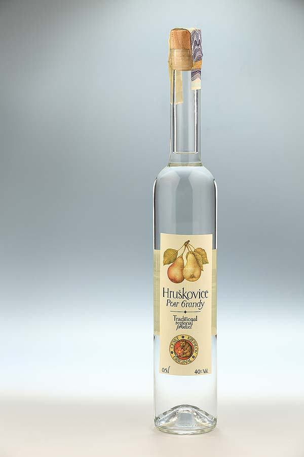 Pear brandy0,5l, Czech Krumlov Original
