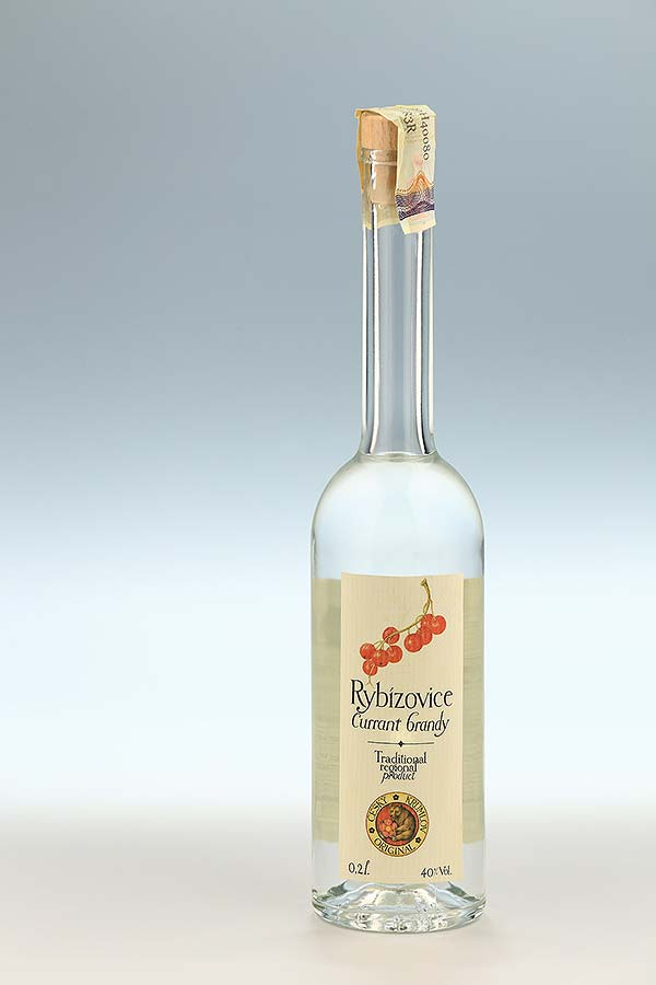Currant brandy 0,2l, Czech Krumlov Original