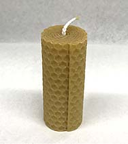 Wax candle narrow small